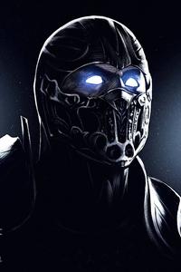 1080x1920 Mortal Kombat Sub Zero Art 4k