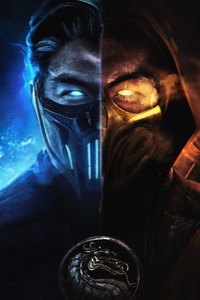 750x1334 MORTAL KOMBAT SUBZERO AND SCORPION