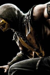240x320 Mortal Kombat X Scorpion