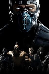 1125x2436 Mortal Kombat X XL Edition