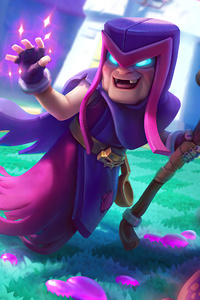 480x800 Motherwitch Clash Royale 4k