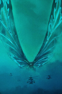 Mothra Godzilla King Of The Monsters 5k