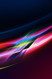 Motion Blur Lights Abstract 4k