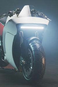 1125x2436 Moto Racer F Strom Cgi 5k