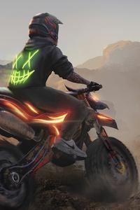 1080x2160 Motocross Madness 4k