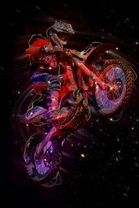 Motorbike Stunter Artistic 5k