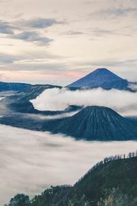 320x480 Mount Bromo East Java Indonesia 4k