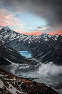 480x800 Mount Cook 4k
