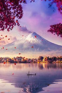 Mount Fuji Mesmerising View 4k
