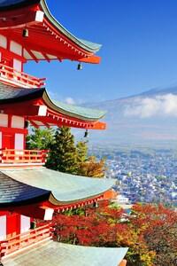 640x960 Mount Fuji Mountain