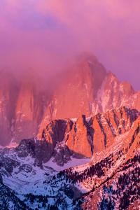 480x800 Mount Whitney In California