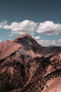 Mountain Alpine Clouds 8k