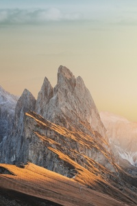 Mountain Sky Beautiful Landscape 8k
