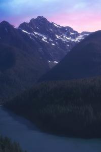1280x2120 Mountains Across America 5k