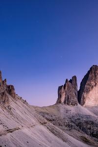 480x854 Mountains Blue Sky Nature Sky Panorama Atmosphere 8k