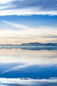 2160x3840 Mountains Clouds Lake 4k