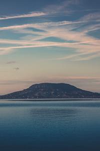 Mountains Daytime Seashore Sky Water Ocean Outdoors 5k