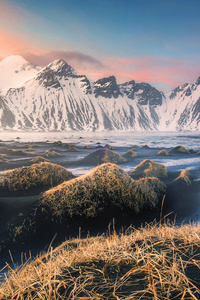 Mountains Iceland 4k