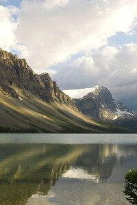Mountains Lake Canada