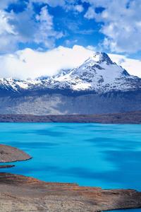 Mountains Lake Clouds 5k