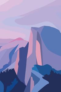 Mountains Minimalism