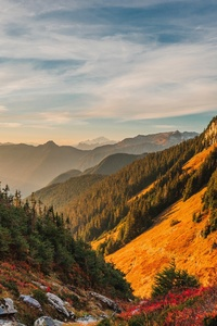 800x1280 Mountains Scenery Sky North Cascades 4k