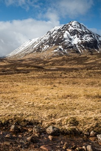 Mountains Stones Scotland Grasslands Ben Nevis 8k