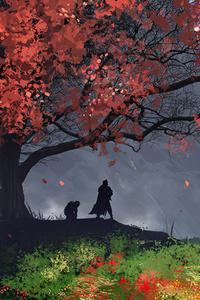 1080x1920 Moutains Castle Witcher