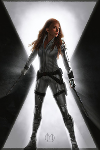480x800 Movie Black Widow 2020 4k
