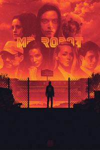 1440x2960 Mr Robot Fanart 4k
