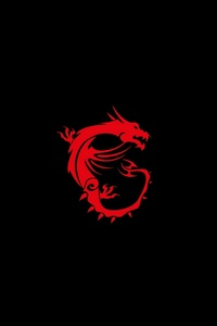 1242x2688 Msi Dragon Logo