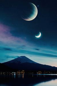 540x960 Mt Fuji View 5k