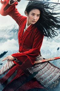 1242x2688 Mulan 2020movie