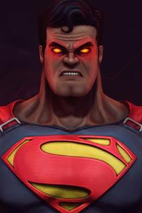 Muscular Superman