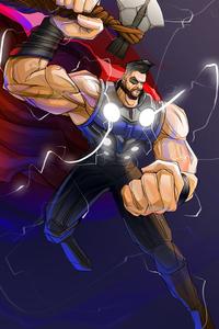 Muscular Thor 4k