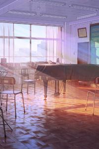 Music Classroom Anime 4k