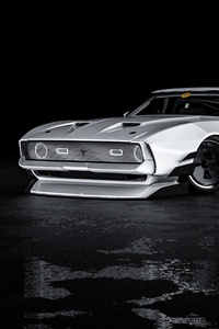 Mustang Mach 1 Front