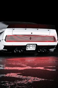 Mustang Mach 1 Rear 5k