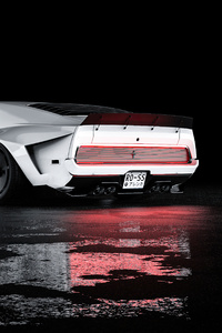 Mustang Mach 1 Rear