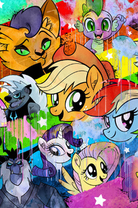 640x1136 My Little Pony Movie