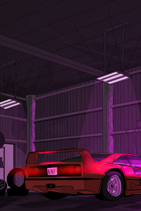 1440x2560 My Retro Garage