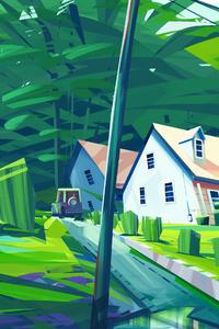 My Town Illustration 4k
