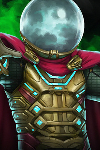1280x2120 Mysterio Marvel Contest Of Champions Game