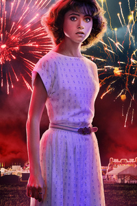 640x1136 Nancy In Stranger Things Season 3 2019 5k