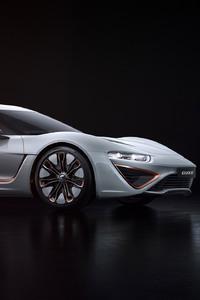 2160x3840 NanoFlowcell Quant 48Volt Concept Car 2017