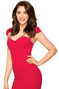 Nargis Fakhri In Red Dress