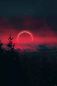 Narrow Eclipse