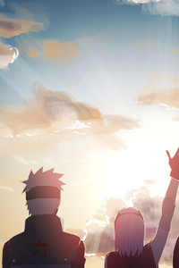 360x640 Naruto Anime Art 4k