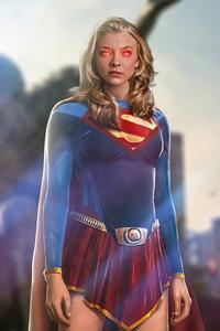 Natalie Dormer As Supergirl 5k