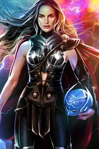 720x1280 Natalie Portman Lady Thor 4k